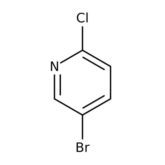 5-Bromo-2-chloropyridine, 98%, ACROS Organics™ 1g; Glass bottle 5-Bromo-2-chloropyridine, 98%, ACROS Organics™