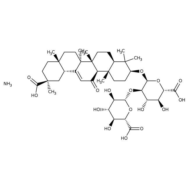 Glycyrrhizic acid monoammonium salt, 98+%, ACROS Organics