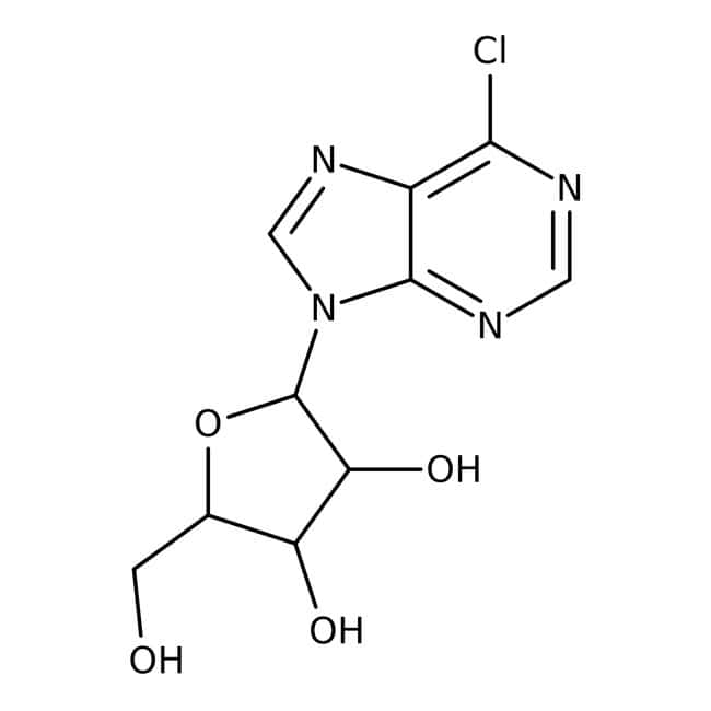 Alfa Aesar™6-Chlorpurinribosid, 98% 1g Alfa Aesar™6-Chlorpurinribosid, 98%