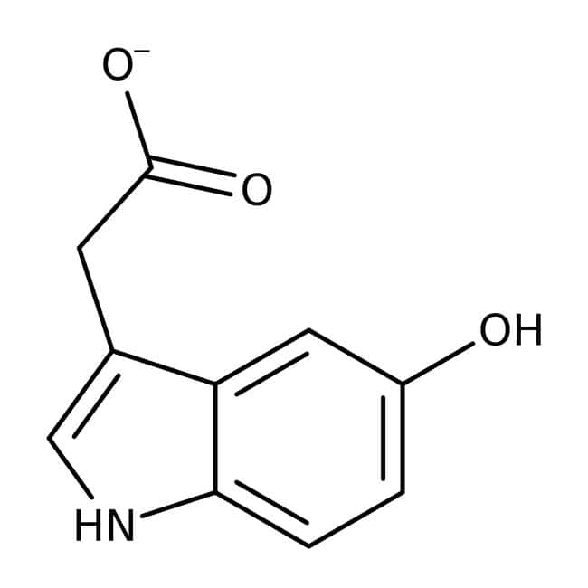 5-Hydroxyindole-3-acetic Acid, 99%, ACROS Organics™ 1g; Glass bottle 5-Hydroxyindole-3-acetic Acid, 99%, ACROS Organics™