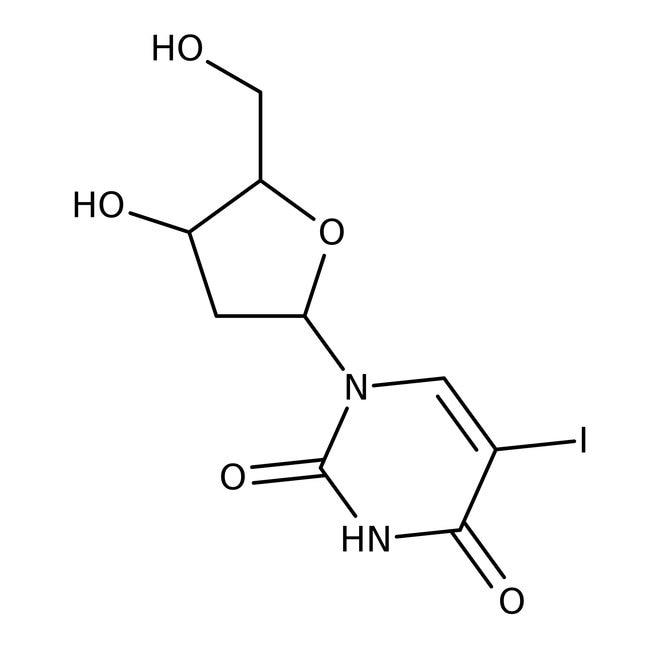 (+)-5-Iodo-2'-deoxyuridine, 99%, ACROS Organics™