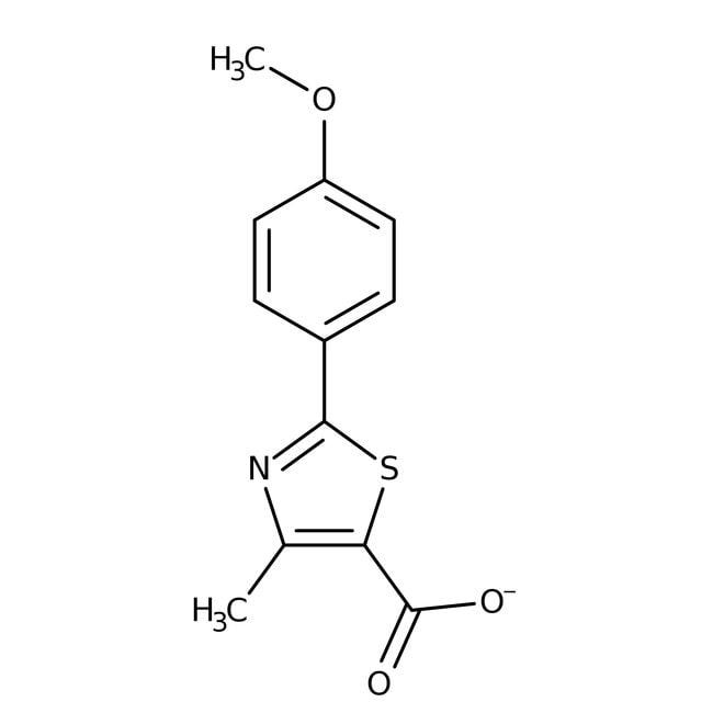 Alfa Aesar™2-(4-Methoxyphenyl)-4-methylthiazole-5-carboxylic acid, 97%