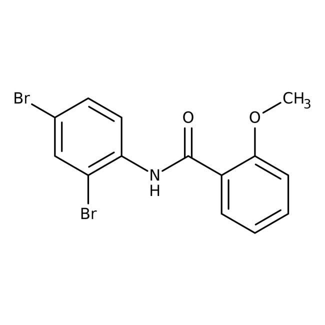 Alfa Aesar™N-(2,4-Dibromophenyl)-2-methoxybenzamide, 97% 250mg Alfa Aesar™N-(2,4-Dibromophenyl)-2-methoxybenzamide, 97%