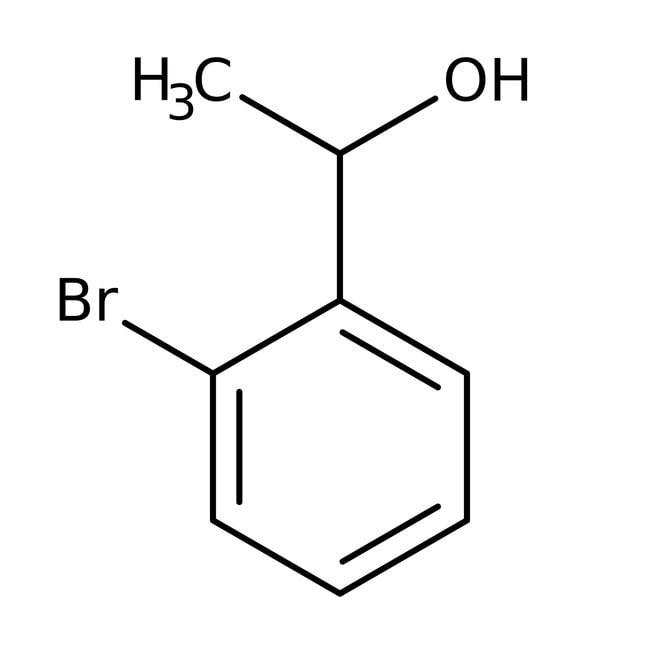 2-Bromo-alpha-methylbenzyl alcohol, 99%, Acros Organics 1g; Glass bottle 2-Bromo-alpha-methylbenzyl alcohol, 99%, Acros Organics