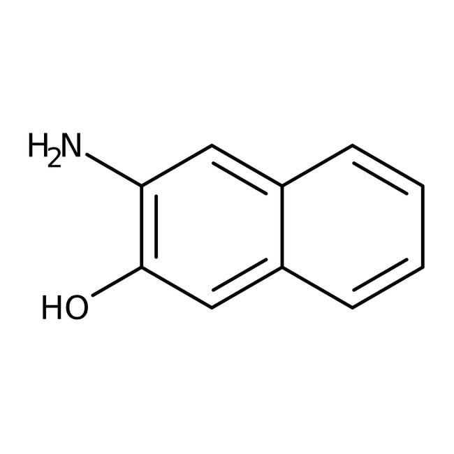 Alfa Aesar™3-Amino-2-naftol, 97% 1g Alfa Aesar™3-Amino-2-naftol, 97%