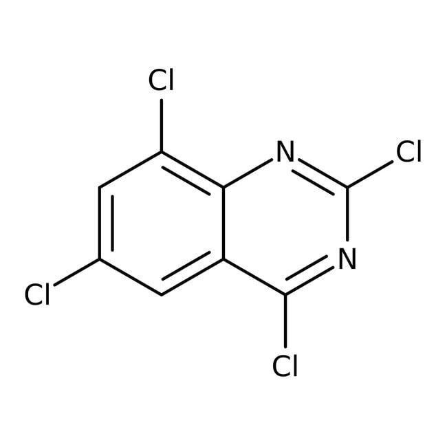 Alfa Aesar™2,4,6,8-Tetrachloroquinazoline, 97% 250mg Alfa Aesar™2,4,6,8-Tetrachloroquinazoline, 97%
