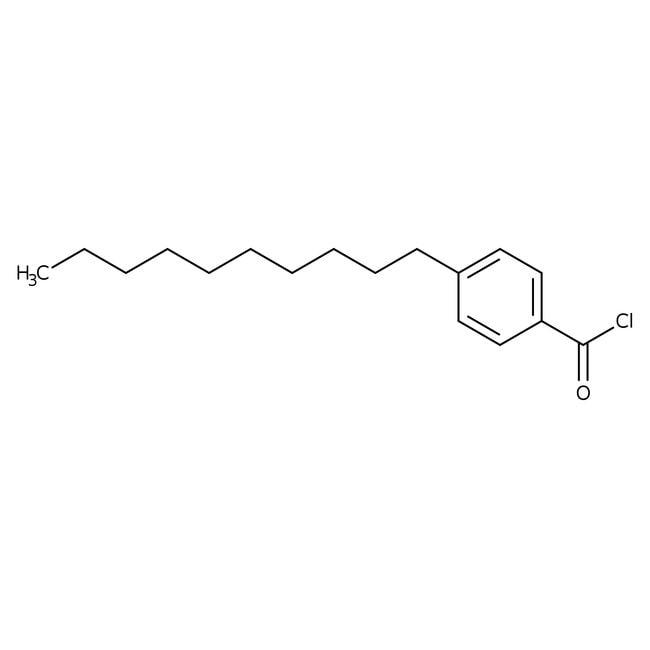 Alfa Aesar™cloruro de 4-n-decilbenzoílo, 98 % 5g Alfa Aesar™cloruro de 4-n-decilbenzoílo, 98 %