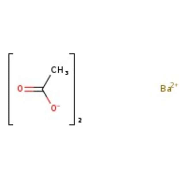 Barium acetate, 99+%, ACS reagent, Acros Organics 2.5kg; Plastic bottle Barium acetate, 99+%, ACS reagent, Acros Organics