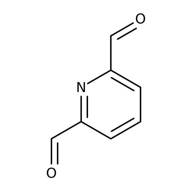2,6-Pyridinedicarboxaldehyde, 97%, ACROS Organics™ 250mg; Glass bottle 2,6-Pyridinedicarboxaldehyde, 97%, ACROS Organics™