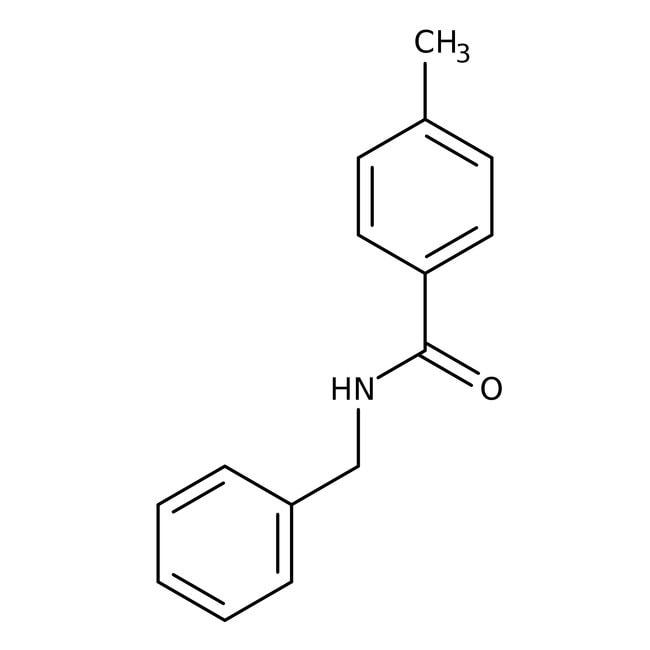 Alfa Aesar™N-Benzyl-4-methylbenzamide, 97% 250mg Alfa Aesar™N-Benzyl-4-methylbenzamide, 97%