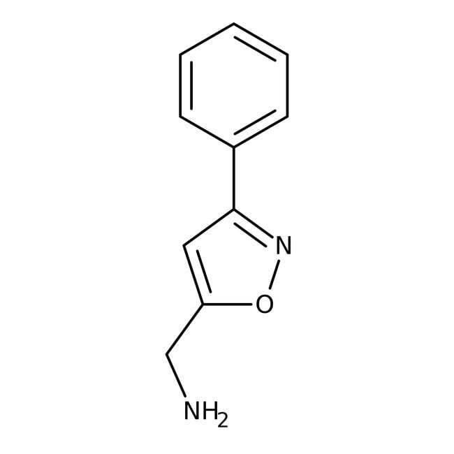 (3-Phenylisoxazol-5-yl)methylamine, 97%, Maybridge Amber Glass Bottle; 5g (3-Phenylisoxazol-5-yl)methylamine, 97%, Maybridge