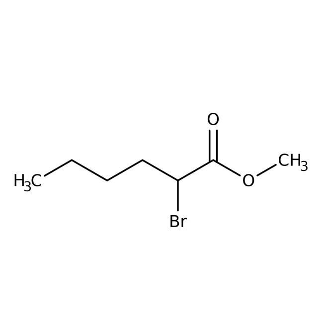 Alfa Aesar™Methyl2-Bromhexanoat, 98% 25ml Alfa Aesar™Methyl2-Bromhexanoat, 98%