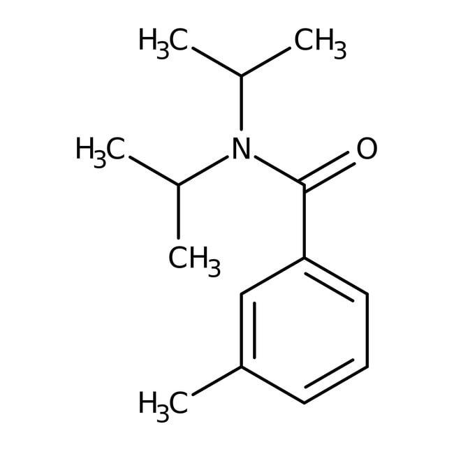 Alfa Aesar™N,N-Diisopropyl-3-methylbenzamide, 97% 1g Alfa Aesar™N,N-Diisopropyl-3-methylbenzamide, 97%