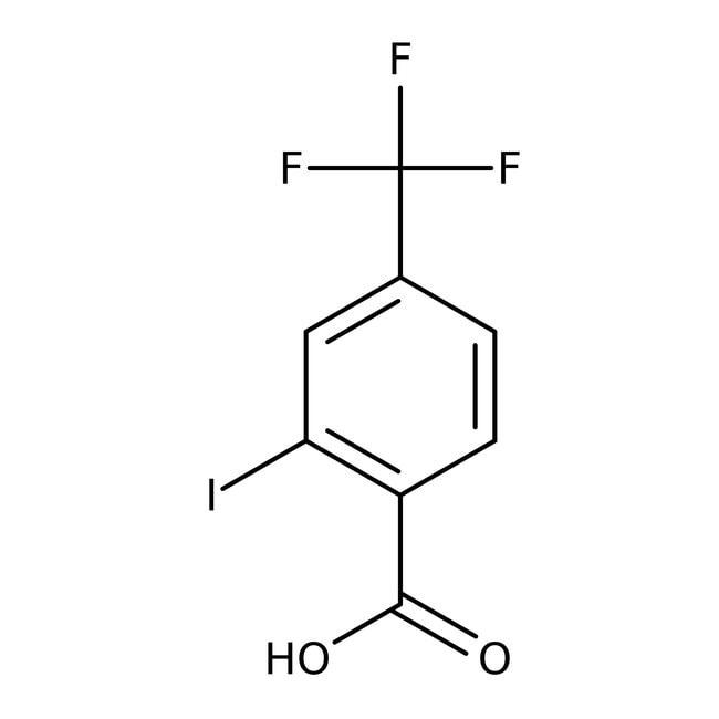 Alfa Aesar™2-Iodo-4-(trifluoromethyl)benzoic acid, 98% 1g Alfa Aesar™2-Iodo-4-(trifluoromethyl)benzoic acid, 98%