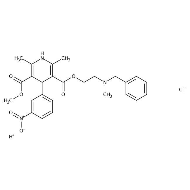 Alfa Aesar™Nicardipine hydrochloride, 98%