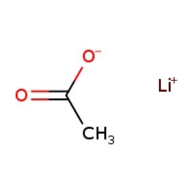 Lithium acetate, anhydrous, 99%, extra pure, ACROS Organics™