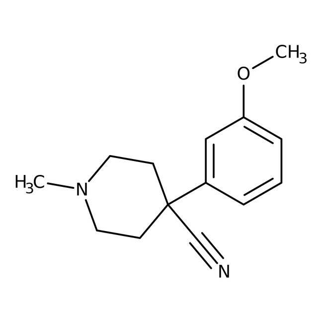 Alfa Aesar  4-Cyano-4-(3-methoxyphenyl)-1-methylpiperidine, 97%