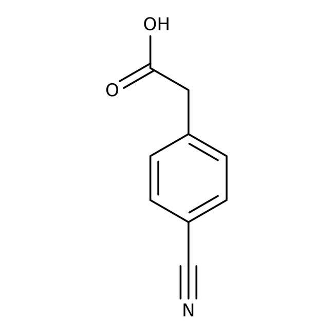 4-Cyanophenylacetic acid, 97%, ACROS Organics™