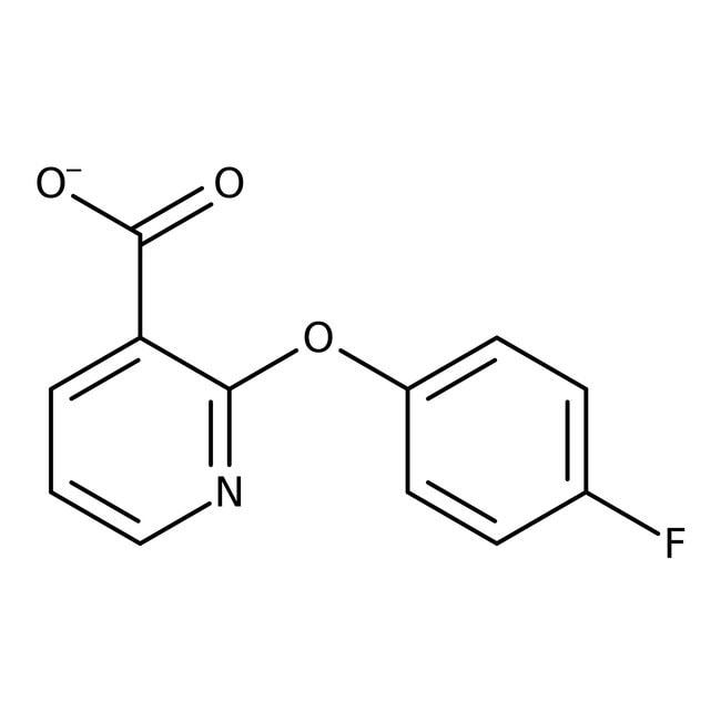 2-(4-Fluorophenoxy)nicotinic acid, 97%, Maybridge