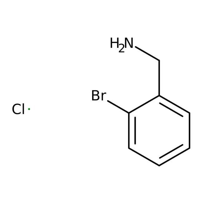 Alfa Aesar™Clorhidrato de 2-bromobencilamina, 97 % 5g Alfa Aesar™Clorhidrato de 2-bromobencilamina, 97 %