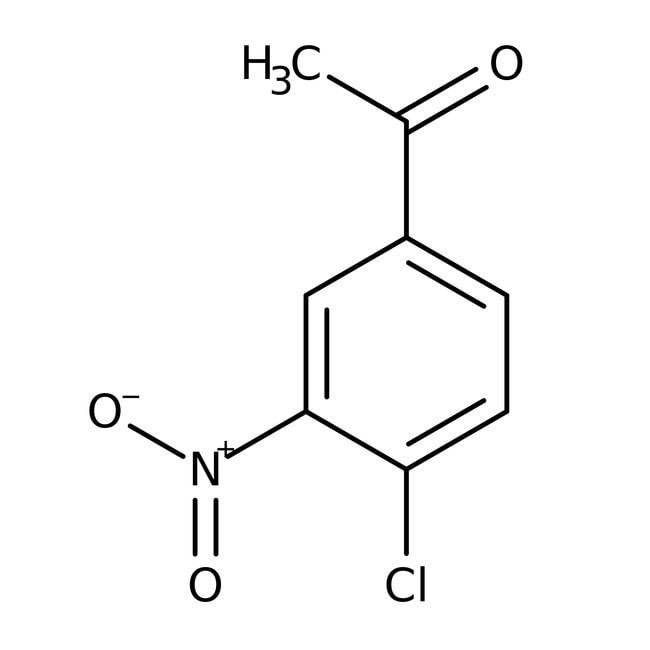 Alfa Aesar™4'-Chloro-3'-nitroacetophenone, 97% 5g Alfa Aesar™4'-Chloro-3'-nitroacetophenone, 97%