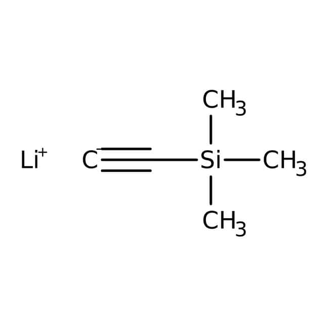 Lithium (trimethylsilyl)acetylide, 0.5M solution in THF, AcroSeal , Acros Organics