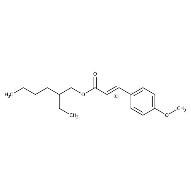 Octyl 4-methoxycinnamate, 98%, stabilized, ACROS Organics™