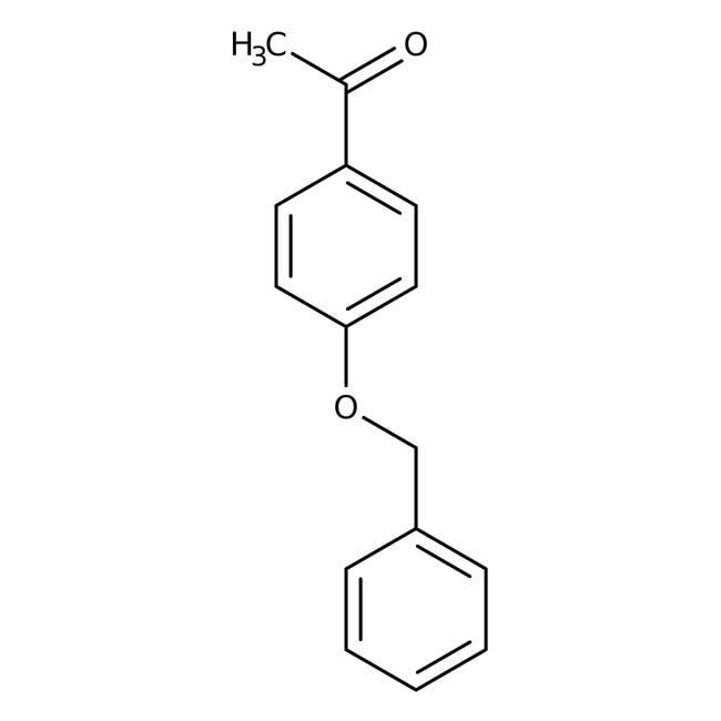 Alfa Aesar™4'-Benzyloxyacetophenone, 98% 100g Alfa Aesar™4'-Benzyloxyacetophenone, 98%
