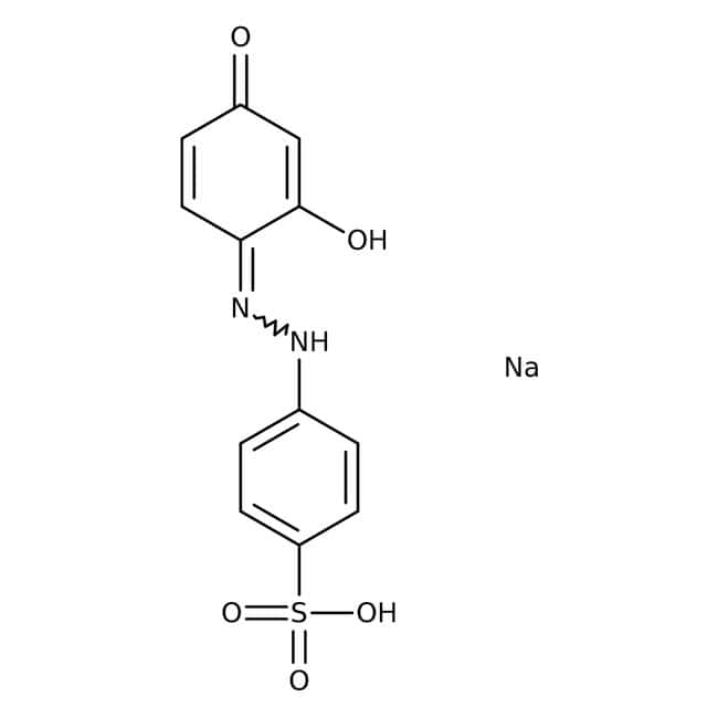 Tropaeolin O, pure, ACROS Organics™ 25g; Glass bottle Tropaeolin O, pure, ACROS Organics™