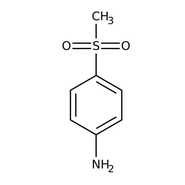 Alfa Aesar™4-(Methylsulfonyl)aniline, ≥97%: Aniline and substituted anilines Benzene and substituted derivatives