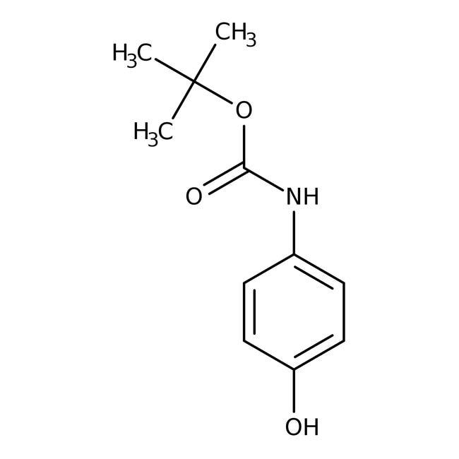 Alfa Aesar™4-(Boc-amino)phenol, 97%