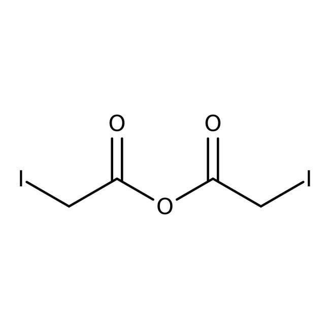 Iodoacetic anhydride, 97%, ACROS Organics™ 250mg; Glass bottle Iodoacetic anhydride, 97%, ACROS Organics™