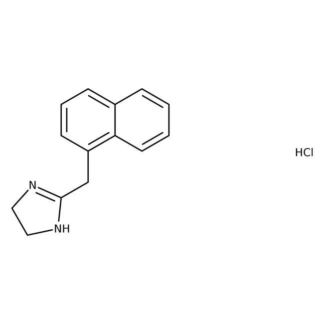 Naphazoline hydrochloride, 99%, ACROS Organics™ 25g; Plastic bottle Naphazoline hydrochloride, 99%, ACROS Organics™