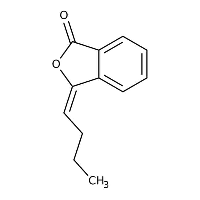Alfa Aesar™n-Butylidenephthalide, (E)+(Z), 95% 10g Alfa Aesar™n-Butylidenephthalide, (E)+(Z), 95%