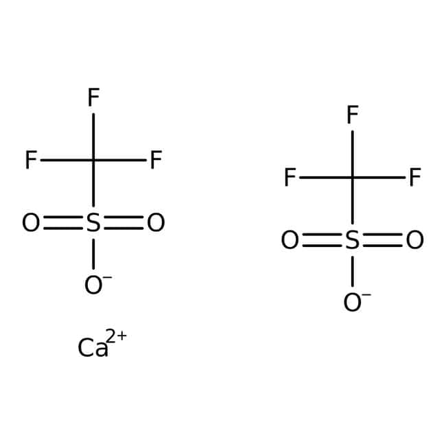 Alfa Aesar™Calcium trifluoromethanesulfonate, 99% min 50g Alfa Aesar™Calcium trifluoromethanesulfonate, 99% min