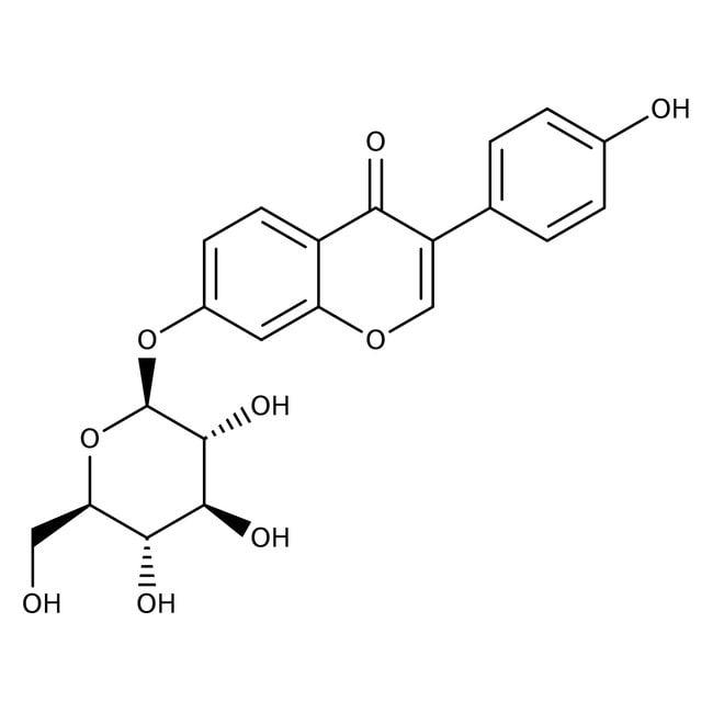 Daidzin, 98%, ACROS Organics™ 100mg Daidzin, 98%, ACROS Organics™