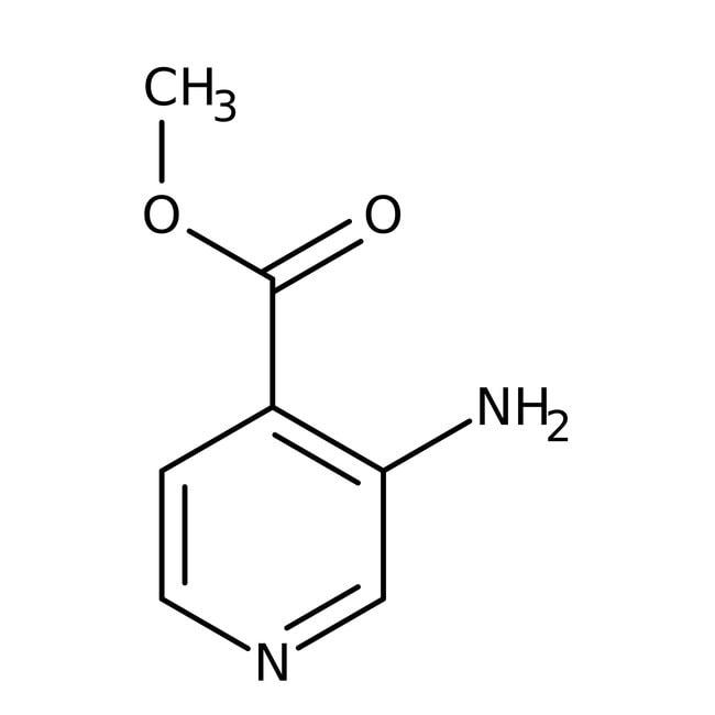 Alfa Aesar™Methyl 3-aminopyridine-4-carboxylate, 97% 10g Alfa Aesar™Methyl 3-aminopyridine-4-carboxylate, 97%