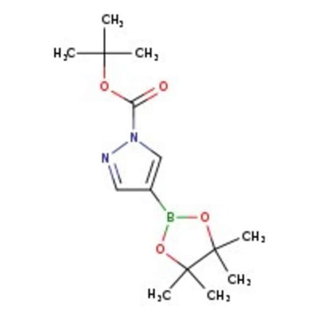 4-(4,4,5,5-Tetramethyl-1,3,2-dioxaborolan-2-yl)-1H-pyrazole-1-carboxylic Acid Tert-Butyl Ester, 97%, ACROS Organics