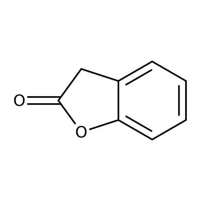 2-Coumaranone, 97%, ACROS Organics™ 1g; Glass bottle 2-Coumaranone, 97%, ACROS Organics™