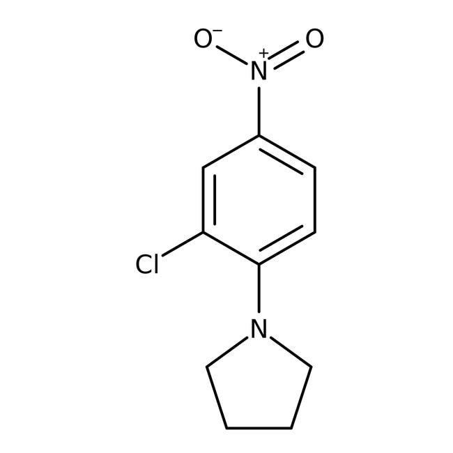 Alfa Aesar™1-(2-Chloro-4-nitrophenyl)pyrrolidine, 97% 5g Alfa Aesar™1-(2-Chloro-4-nitrophenyl)pyrrolidine, 97%