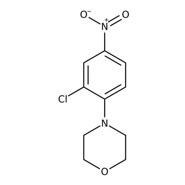 Alfa Aesar™4-(2-Chloro-4-nitrophenyl)morpholine, 97% 5g Alfa Aesar™4-(2-Chloro-4-nitrophenyl)morpholine, 97%