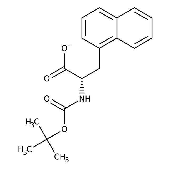 (S)-N-BOC-1-Naphthylalanine, 95%, 98% ee, ACROS Organics