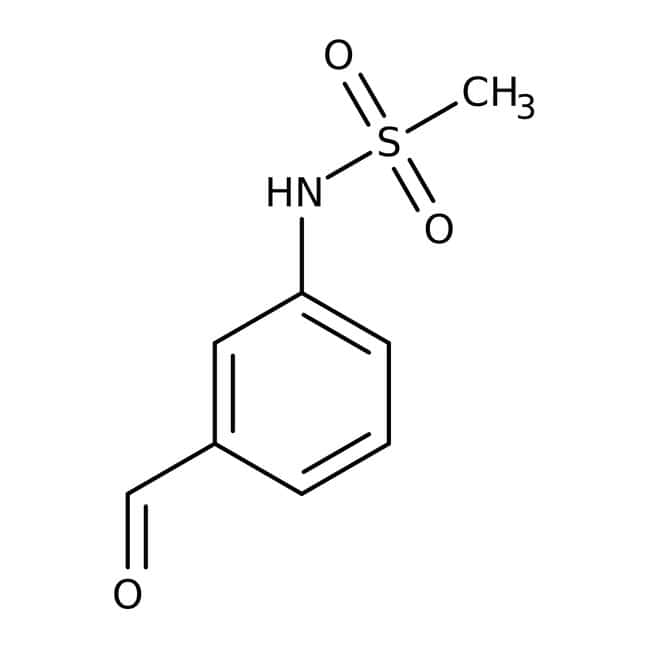 n-(3-Formylphenyl)methanesulfonamide, ≥97%, Maybridge: Benzene and substituted derivatives Benzenoids