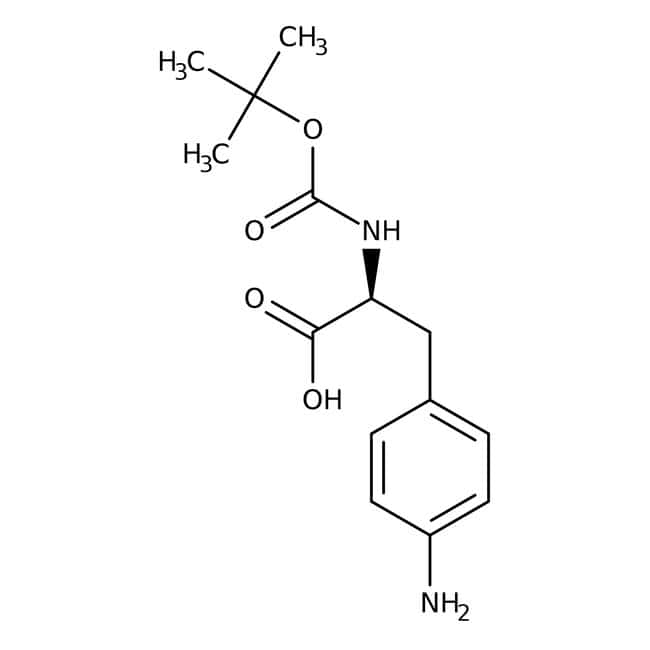 Alfa Aesar™4-Amino-N-Boc-L-phenylalanine, 95% 250mg Alfa Aesar™4-Amino-N-Boc-L-phenylalanine, 95%
