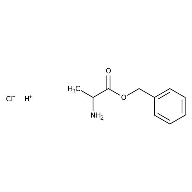 Alfa Aesar™L-Alanine benzyl ester hydrochloride, 98% 25g Alfa Aesar™L-Alanine benzyl ester hydrochloride, 98%