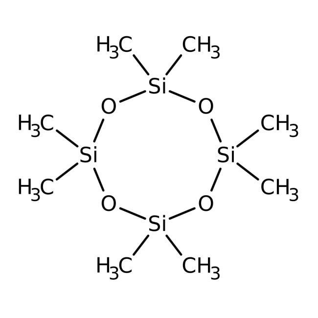 Octamethylcyclotetrasiloxane, 98%, ACROS Organics™ 25g; Glass bottle Octamethylcyclotetrasiloxane, 98%, ACROS Organics™