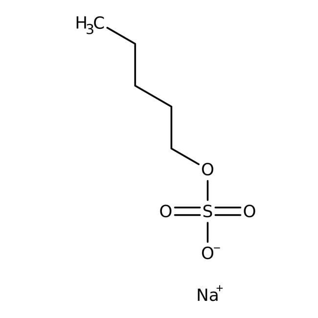 Alfa Aesar  Sodium 1-pentyl sulfate, 99%