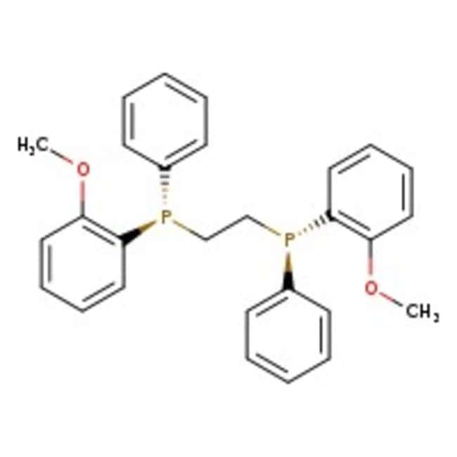 (1R,2R)-Bis[(2-methoxyphenyl)phenylphosphino]ethane, 90%, Acros Organics