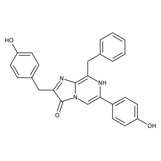 Coelenterazine, native, Aequorea sp., Alfa Aesar™ 10mg Coelenterazine, native, Aequorea sp., Alfa Aesar™