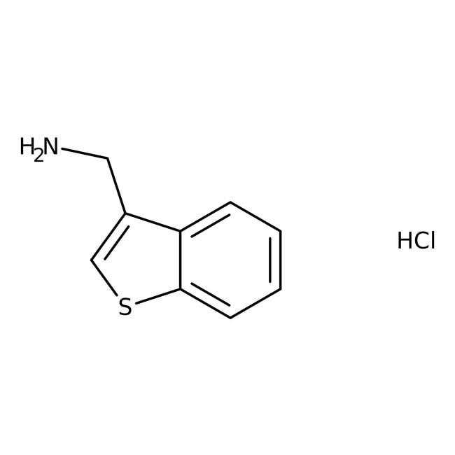 1-Benzothiophen-3-ylmethylamine hydrochloride, 95%, Maybridge™